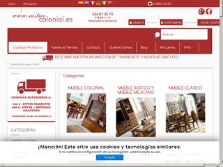 Tienda mueble colonial tienda online mobiliario en for Muebles alcaniz