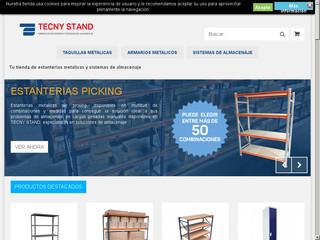 Estanterias metalicas tienda online muebles en el palmar - Estanterias metalicas online ...