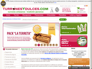 www.turronesydulces.com