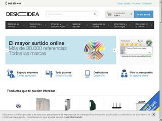 Deskidea material de oficina online material escolar y for Material de oficina online